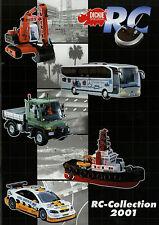 Katalog Dickie RC Collection 2001 Radio Control Modellautos Trucks brochure mode