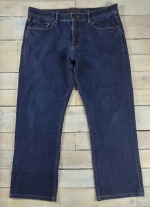 13d330c2 DL1961 Vince Casual Straight in Superior Wash Dark Blue Jeans Size ...
