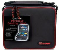 Ultra Pro Zippered Gaming Case With Corrugated Insert, New, Free Shipping on sale