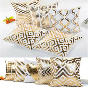 Geometric-Gold-Foil-Printed-Pillowcase-Sofa-Car-Waist-Cushion-Cover-For-Home