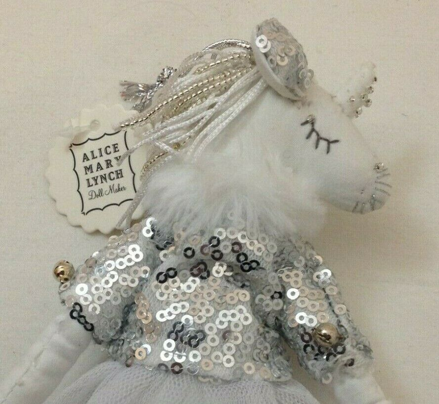 Anthropologie Snow Queen Ornament by Alice Mary Lynch
