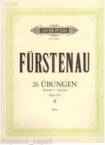 Furstenau: 12 Übungen Für Flöte Op.107 - Peters