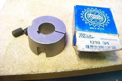 "0.75/"" Bore 1.875/"" OD Sintered Steel Martin 1210 3//4 Taper Bushing 1/"" L Inch"