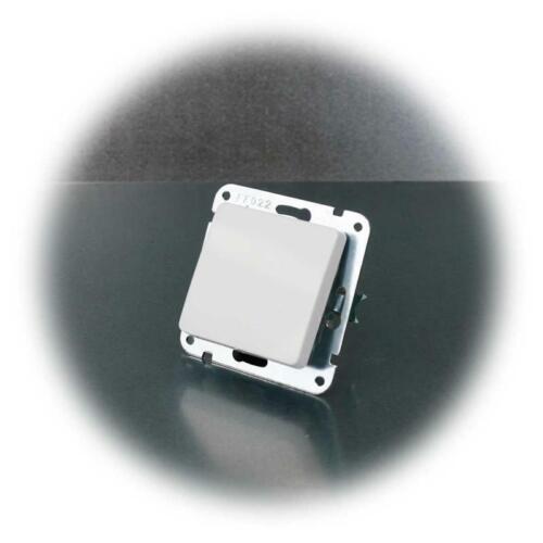 Delphi cambio interruptor blanco sin marco con abrazadera 250v ~ 10a empotrado