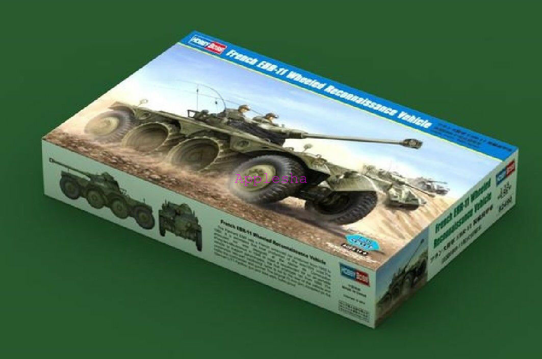 Hobbybo modellllerler Kit 82490 1  35 Franska EBR -11 hjulspaningsfordon