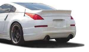 KBD Body Kits Duckbill Polyurethane Rear Wing Spoiler Fits Nissan 350Z 03-08