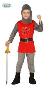 ritter kinderkostüm ritterkostüm für kinder mittelalter kämpfer gr. 98-152   ebay