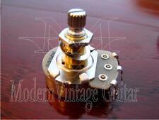 """1  Modern Vintage Guitar B250K Potentiometer Alpha Pot 24mm 5/16"""" shaft BR"""