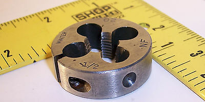 Winter USA 1/2-20NF 1-1/2 O.D. die ~ lathe mill end machinist aircraft tool