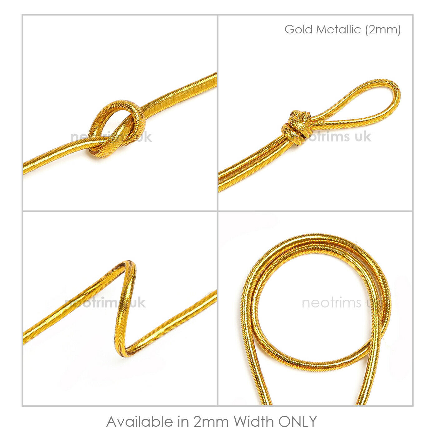 3mm Elastic Shock Cord For Face Mask,Bungee Rope Sailing,Crafts Garment,Neotrims