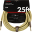 Fender-Deluxe-TWEED-Electric-Guitar-Instrument-Cable-Straight-Ends-25-039-ft thumbnail 1