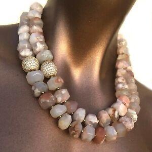 Gemstone-Agate-Necklace-Handmade-One-of-a-Kind-Designer-Statement-Bridal-AM02