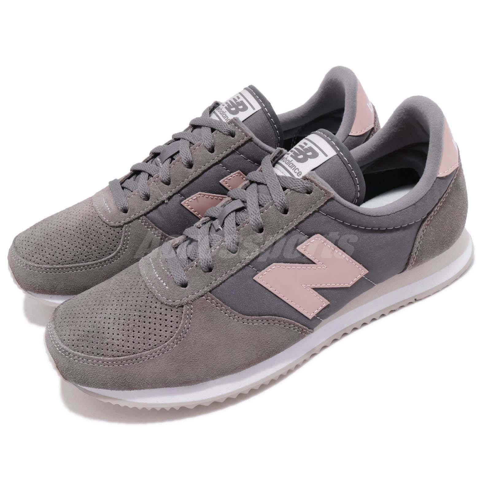 New Balance WL220TG B Grey Pink White Women Running shoes Sneakers WL220TGB