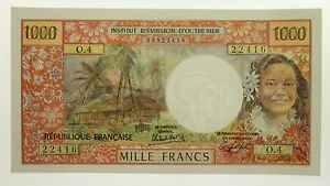 Tahiti-1983-1000-Francs-Yves-Roland-Billecart-Gabriel-Lefort-Banknote