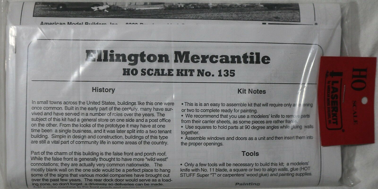 American Model Builders HO HOn3 Ellington's Mercantile (135)
