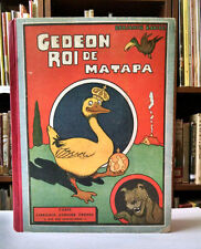 Benjamin Rabier, GEDEON, ROI DE  MATAPA, 1932, HC, comics, anthropomorphism