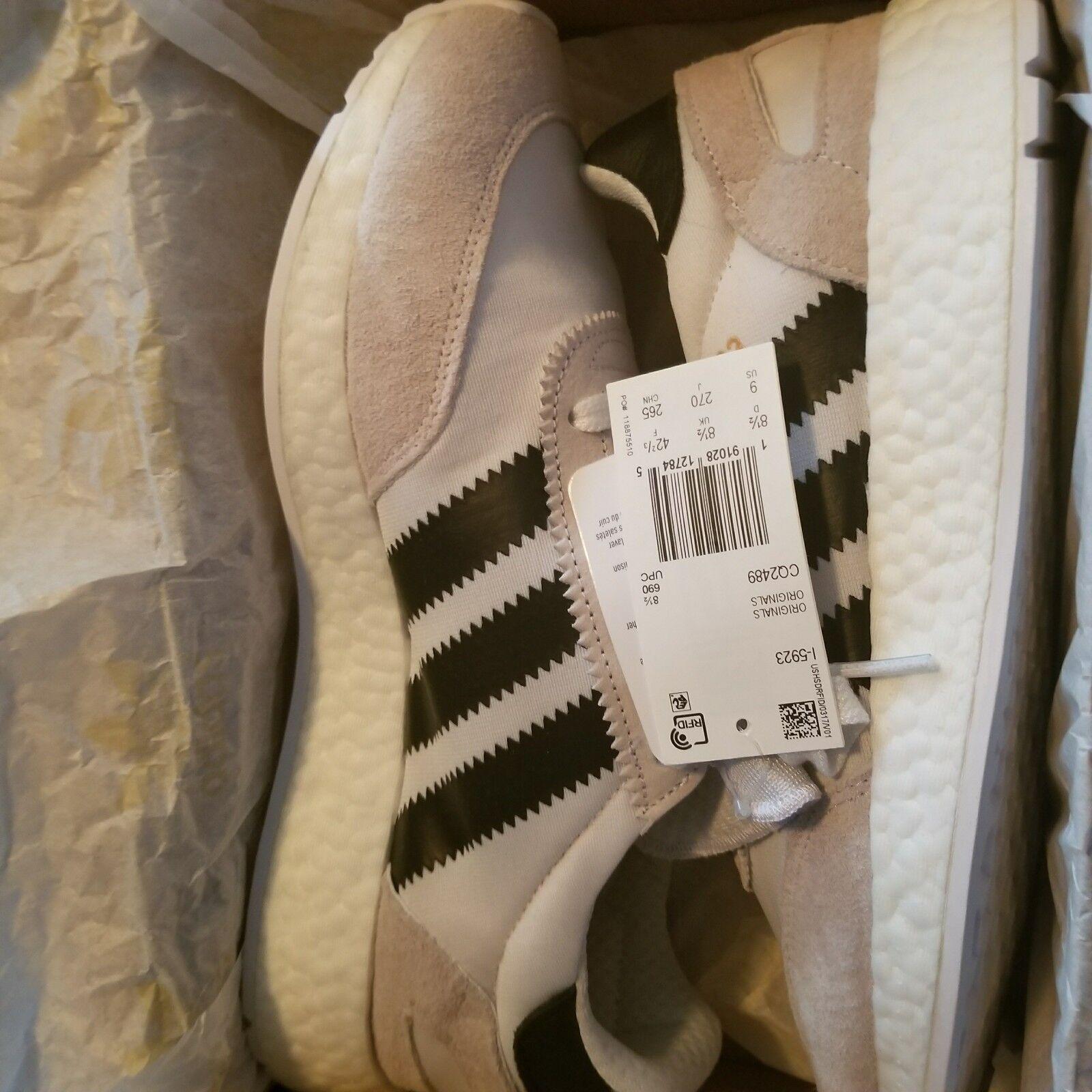 [CQ2489] Mens Sneaker Adidas I-5923 Iniki Runner Sneaker Mens - White Black Copper 5d3860