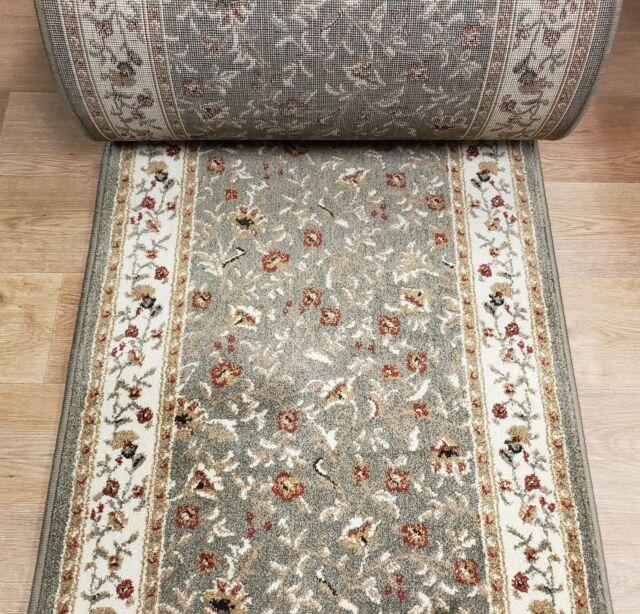 Floral Custom Nylon Carpet Hall Runner