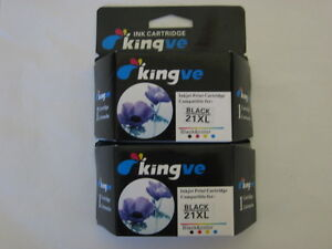 2pk-Remanufactured-inks-for-HP-21XL-Cartridge-fit-PSC-1410-1415-D1415-F2240-HP21