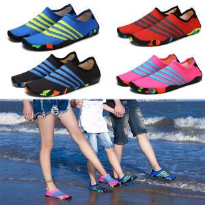 7b9e58861427 Women Men Kids Water Shoes Pool Barefoot Outdoor Sports Beach Swim ...