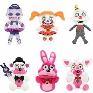 Koala Stuffed Animals Mini, 6pcs Fnaf Plush Toys Five Nights At Freddy S Sister Location Baby Ballora Ennard Ebay
