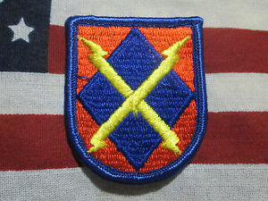 US ARMY 44TH MEDICAL BRIGADE AIRBORNE BERET FLASH M//E