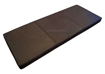 Real Genuine Antique Green Leather Seat Cushions Seat Pads for Chairs /& Benches