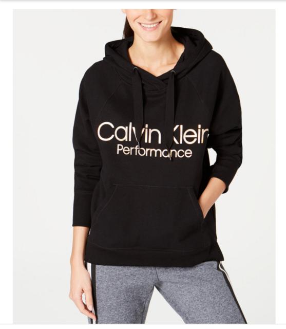 Calvin Klein Performance Womens Purple Fleece Sweatshirt Hoodie Top M BHFO  9124 for sale online | eBay