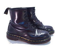 Dr. Martens Doc 1460 England Rare Vintage Cordovan Brown Leather Boots UK 6 US 8