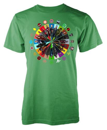 Superhero Marvellous Avenger mashup Kids T Shirt