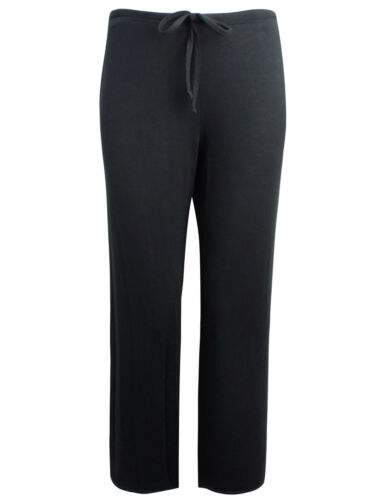 NEW MARKS /& SPENCER BLACK MODAL GYM YOGA DANCE LOUNGE TROUSERS SIZES 6 18 MED