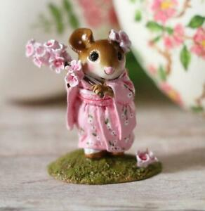 Wee-Forest-Folk-Figurine-M-459a-Cherry-Blossom-Girl-in-Japanese-Kimono