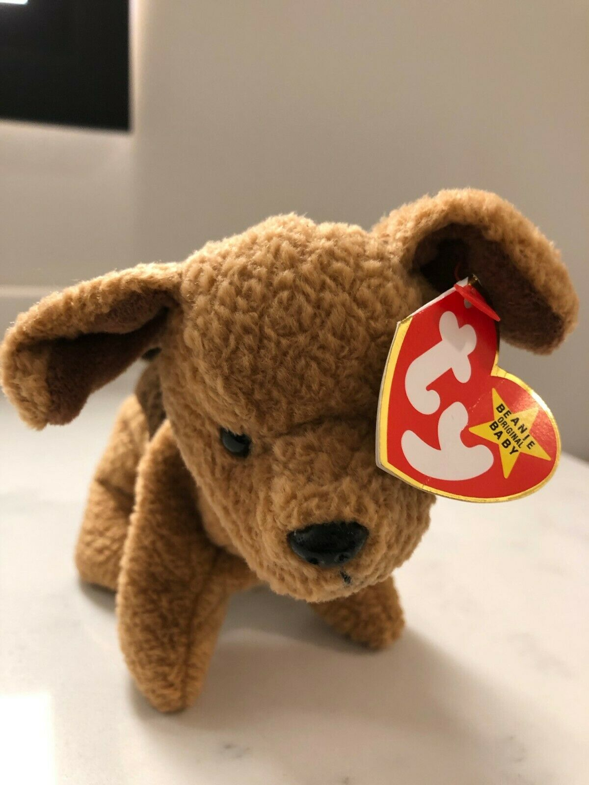 Tuffy the Terrier Beanie Baby, Mint Condition