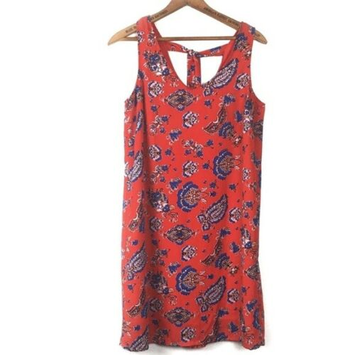 Paraphrase Tie Back Tunic Mini Dress