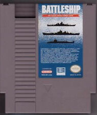 BATTLESHIP BATTLE SHIP NINTENDO SYSTEM GAME ORIGINAL NES HQ