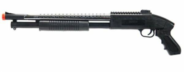 *400 FPS* Pump Action M590S Spring Powered Airsoft Shotgun BB Gun 1:1 Lot of 2