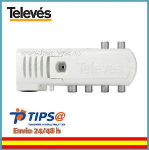 AMPLIFICADOR-ANTENA-PARA-TELEVISION-TDT-TV-INTERIOR-4-SAL-TV-Lte-TELEVES-5529