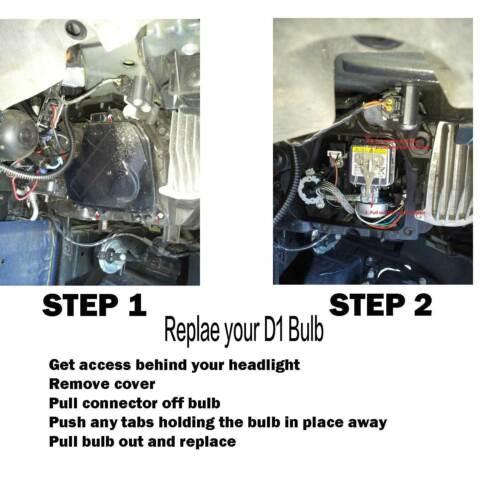 OEM HID Xenon D1S D1R D1C Headlight Hi//Lo BI Replacement Light Bulb 6000K White