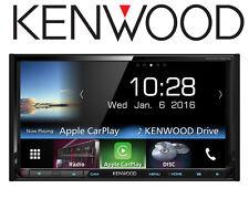 "Kenwood DDX-9716BTS 7.0"" WVGA Double Din Car Stereo USB Bluetooth Apple CarPlay"
