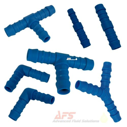 Silicone Hose Joiner Nylon Barbed Tube Connector Repair Pipe Fitting Water Air