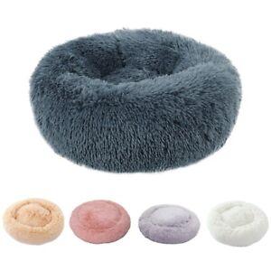 Hundebett-Katzebett-Pluesch-Flauschige-Haustier-Hund-Nest-Kissen-Weiches-Waschbar