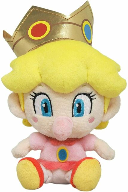 Super Mario All Star Collection Baby Peach S Plush Doll Stuffed Toy Japan 2018 For Sale Online Ebay