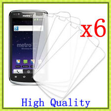 6 Pcs HD Clear LCD Screen Protector Guard Cover For ZTE MetroPCS Anthem 4G N910