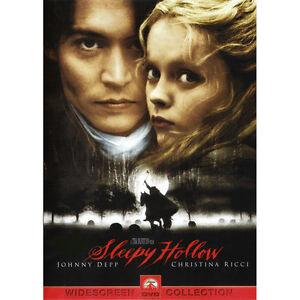Sleepy Hollow DVD, Christopher Walken, Michael Gough, Ian McDiarmid, Richard Gri