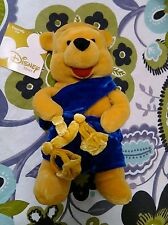 DISNEY STORE EXCLUSIVE WINNIE THE POOH ZODIAC HOROSCOPE LIBRA BEAN BAG PLUSH 8""