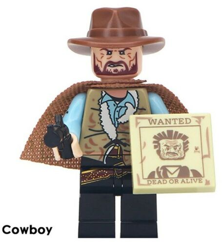 Cowboy Wild West The Criminals Toys Kids Best Building Blocks Marvel New 2019