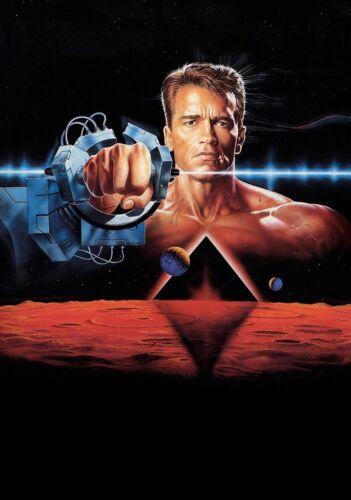 TOTAL RECALL Movie PHOTO Print POSTER Textless Film Art Arnold Schwarzenegger 02