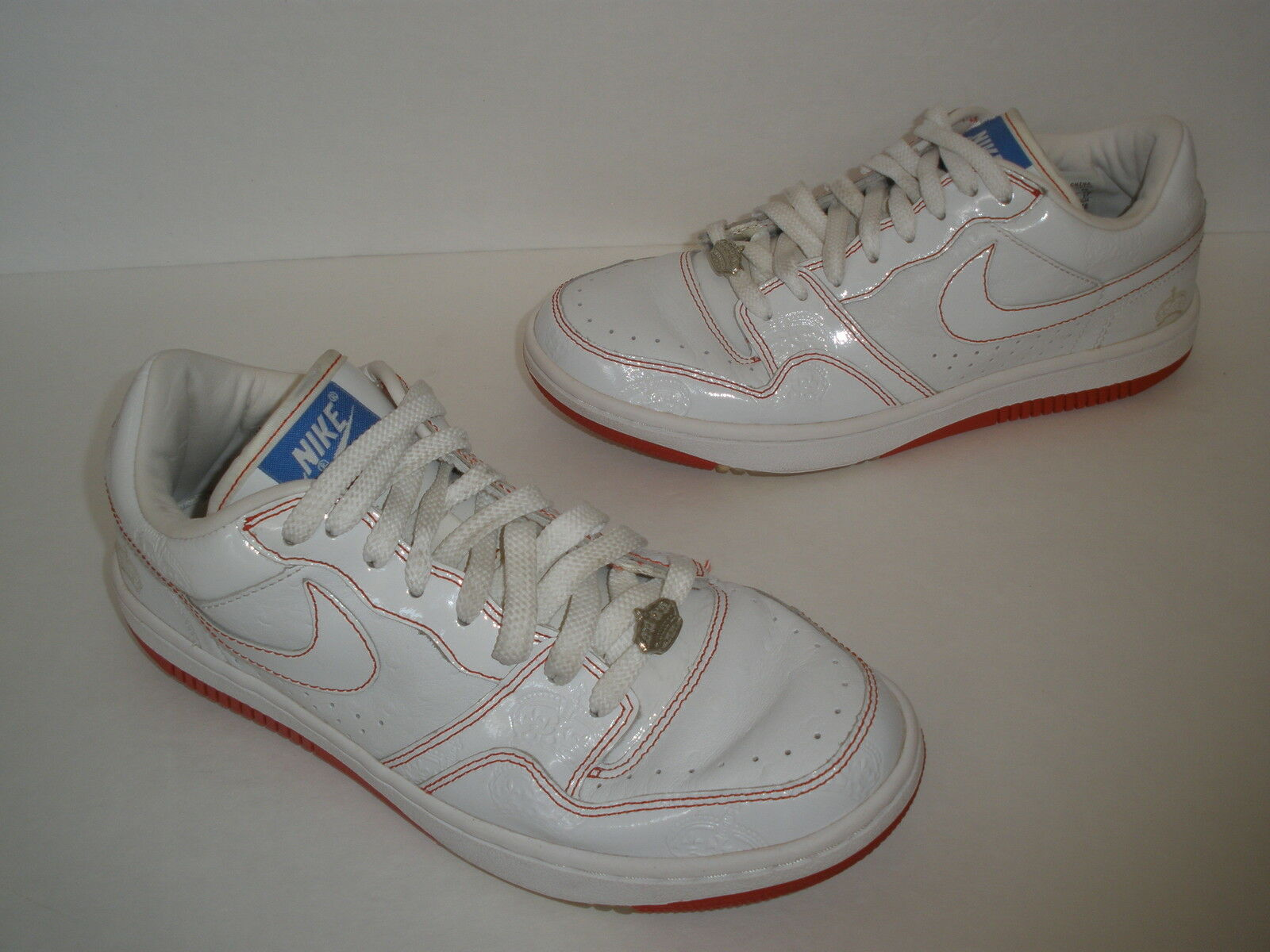 2006 NIKE COURT COURT COURT FORCE THE CROWN MEN Größe US 9 EUR 42.5 UK 8 RARE   314191-111 6e8c67
