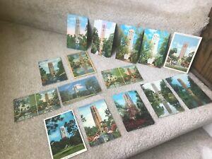 Lot-of-15-Vintage-Postcards-Singing-Tower-Mountain-Lake-Wales-1939-1960s