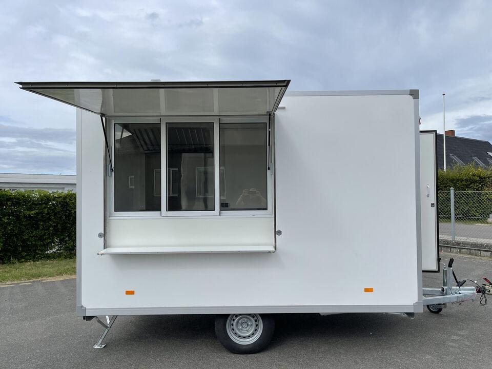 Salgsvogn/Foodtruck - Fabriksny - inkl. indretn...